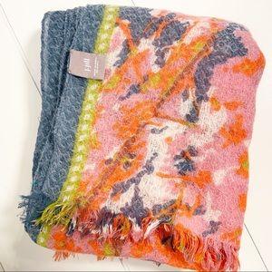 J. Jill Floral Wool Wrap
